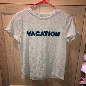 """Made well """"vacation"""" T-shirt"""